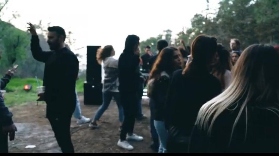 Τechno πάρτι σε μοναστήρι στον Πενταδάκτυλο (βίντεο)